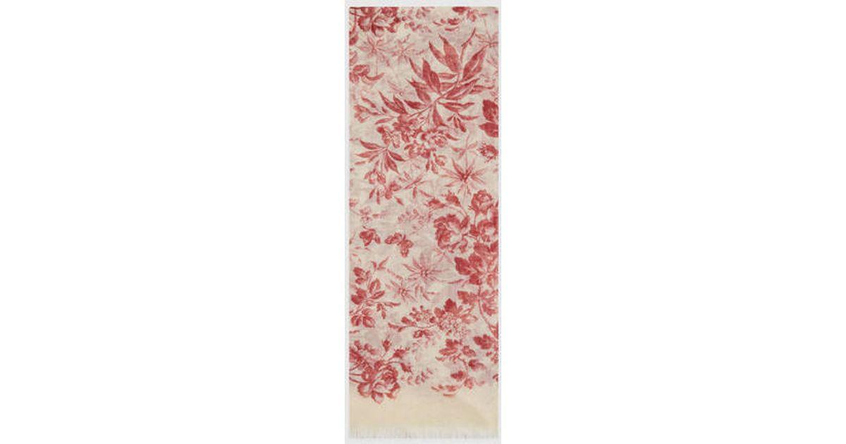 Gucci Modal Blend Herbarium Print - 37.6KB