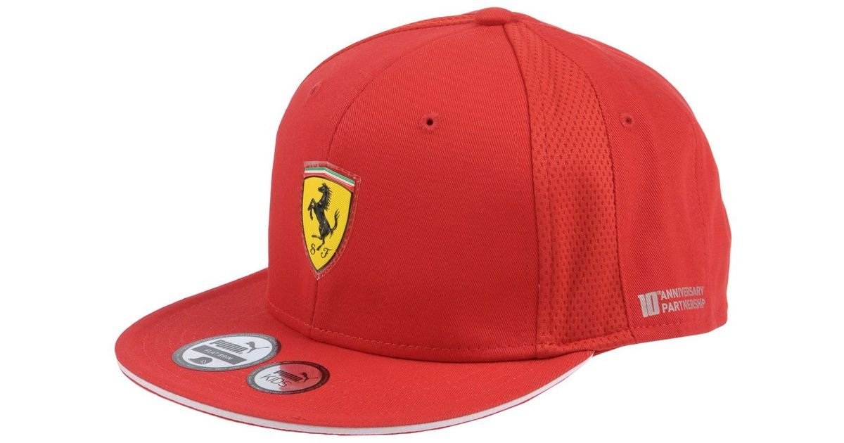 94266852816 ... norway lyst puma hat in red for men 17e35 2b853