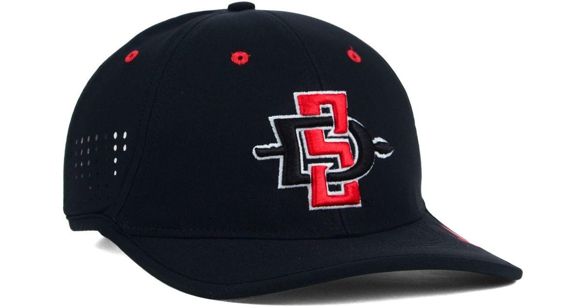 Lyst - Nike San Diego State Aztecs Coaches Dri-fit Cap in Black for Men 2372a36ed24