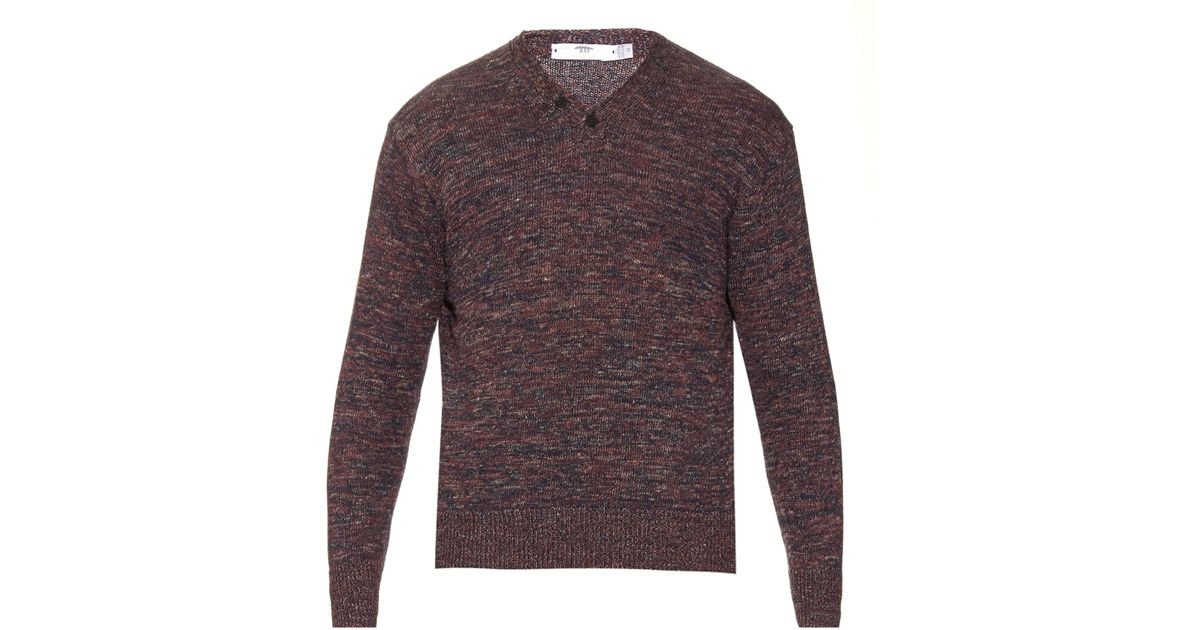 Inis meáin Donegal Hurling Ribbed-knit Linen Sweater in ...