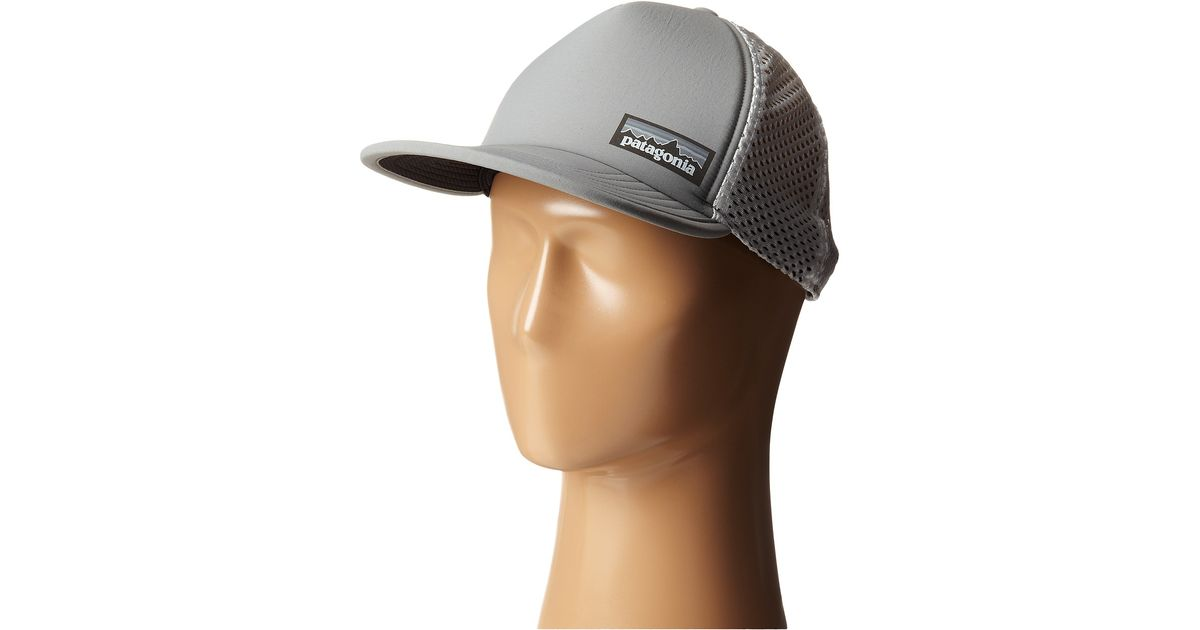 31aac3f1 Patagonia Duckbill Trucker Hat in Gray - Lyst