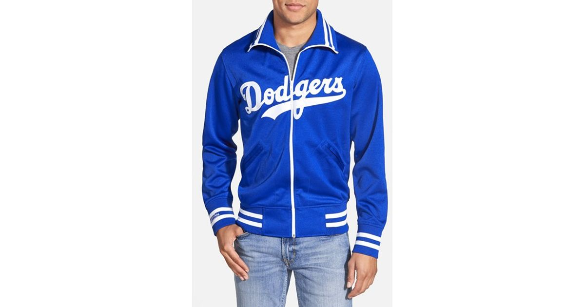 Mitchell ness 39 los angeles dodgers 39 tailored fit jacket for Custom dress shirts los angeles