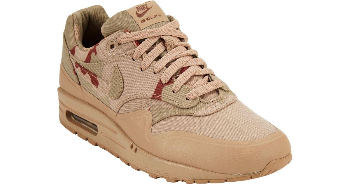 36a507b5e8ed5b Nike Air Max 1 Mc Sp Sneakers in Natural for Men - Lyst