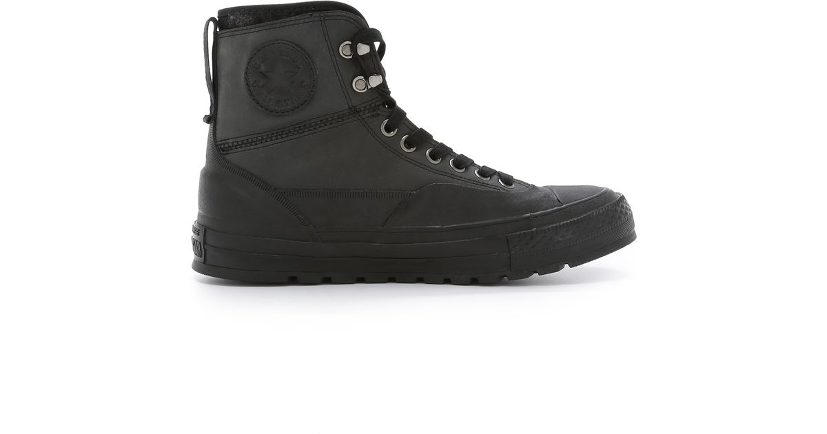 2b8adbb0c085e5 Lyst - Converse Chuck Taylor All Star Tekoa Boots in Black for Men