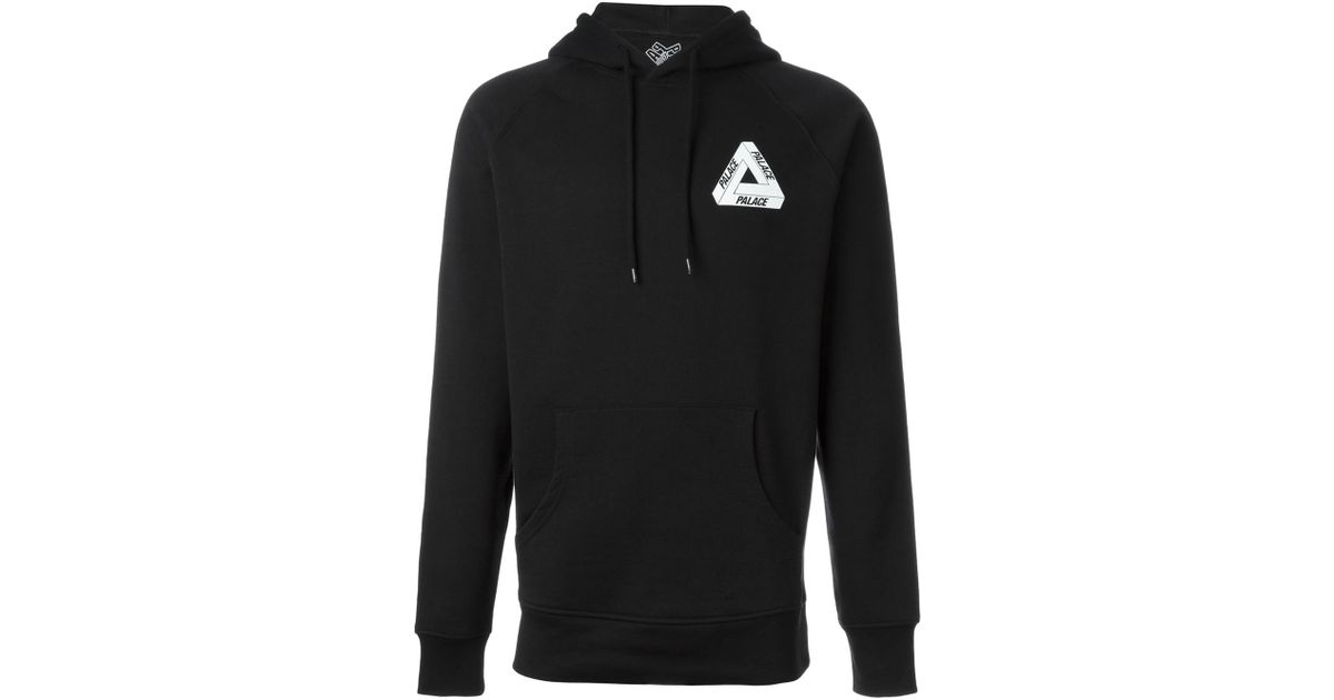 96c42db005c7 Lyst - Palace Back Logo Print Hoodie in Black for Men