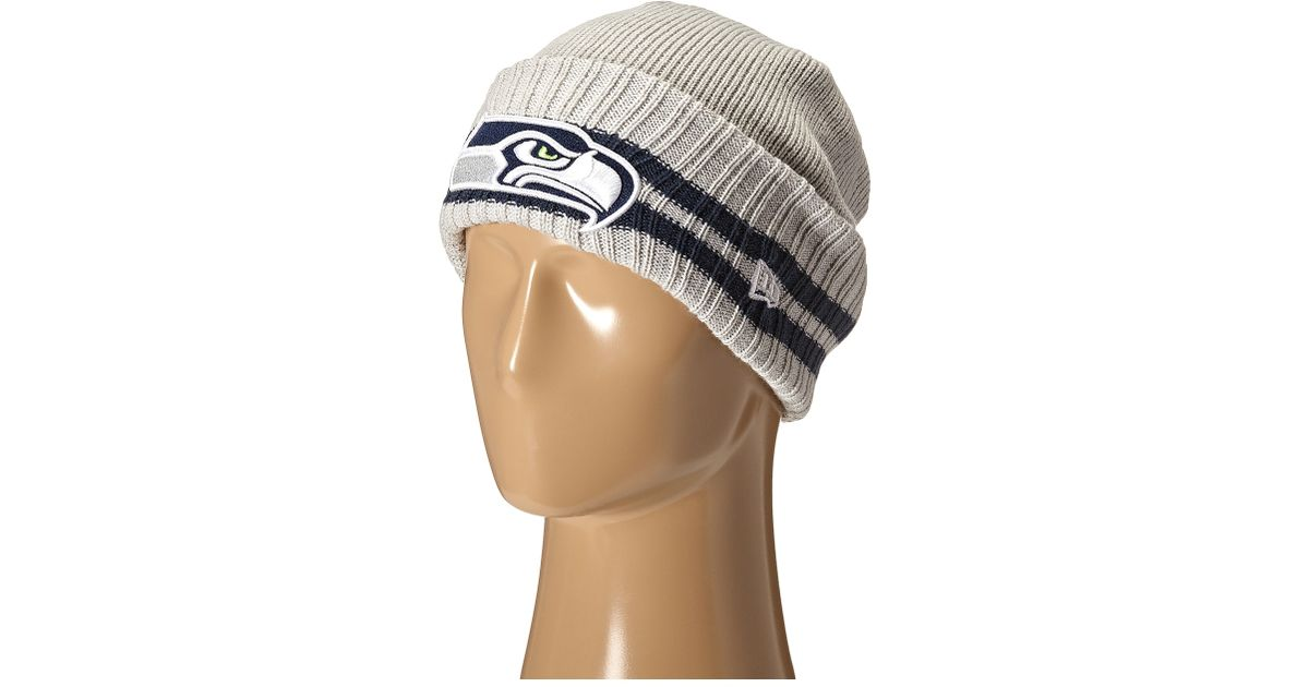 34bb7505944 Lyst - Ktz 2 Striped Cuff Seattle Seahawks in Gray for Men