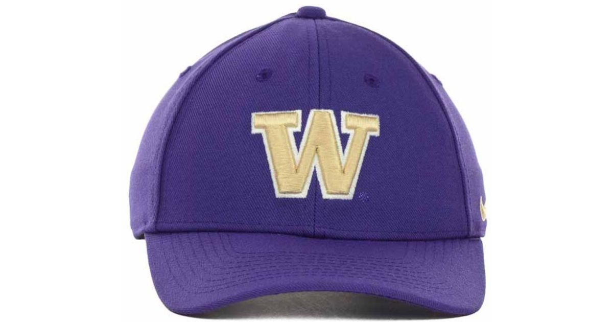 huge selection of 4aa46 e3375 Lyst - Nike Washington Huskies Dri-fit Classic Cap in Purple for Men