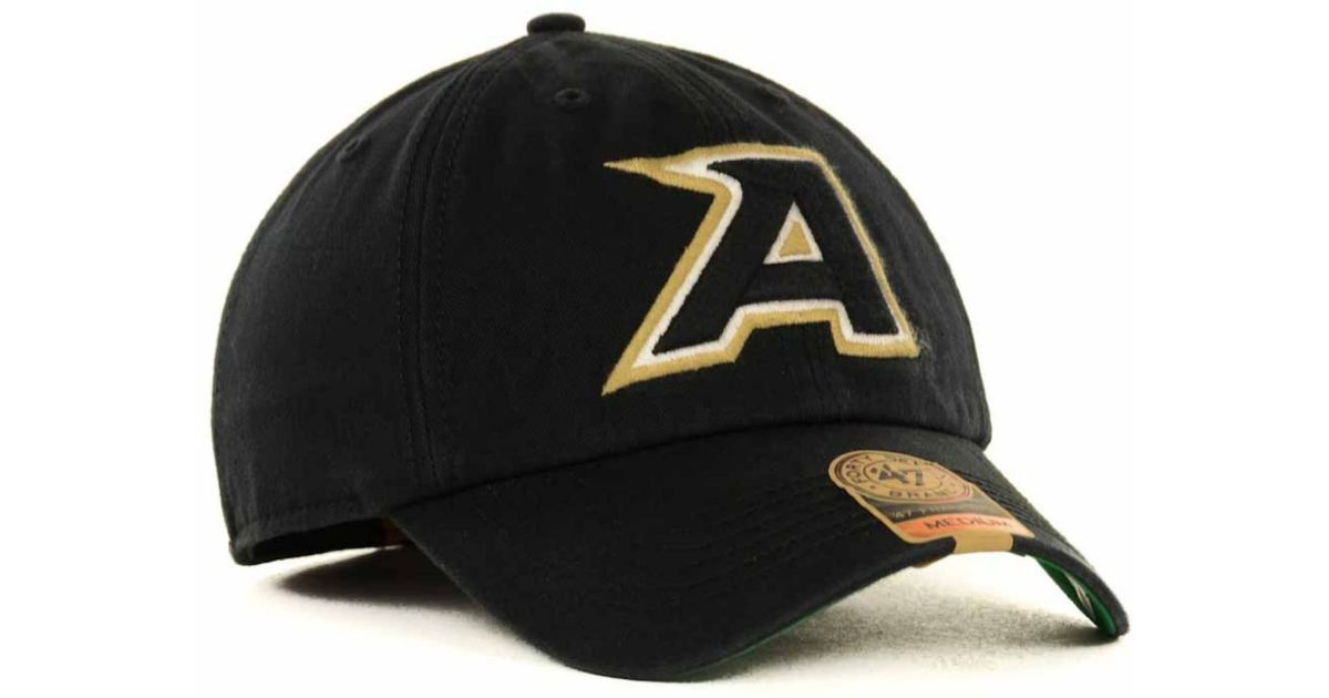 9b33eb715471a ... closeout lyst 47 brand army black knights ncaa 47 franchise cap in  black for men 9a1ac