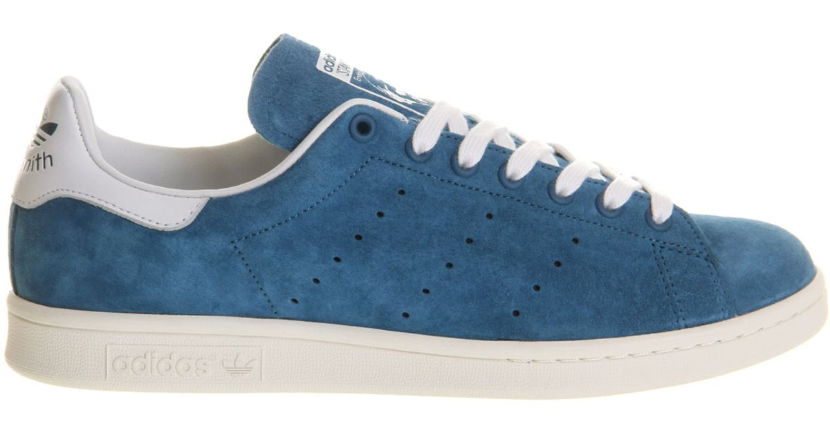 f59f5252d48e ... france lyst adidas stan smith 1 in blue for men 80cfa b4957