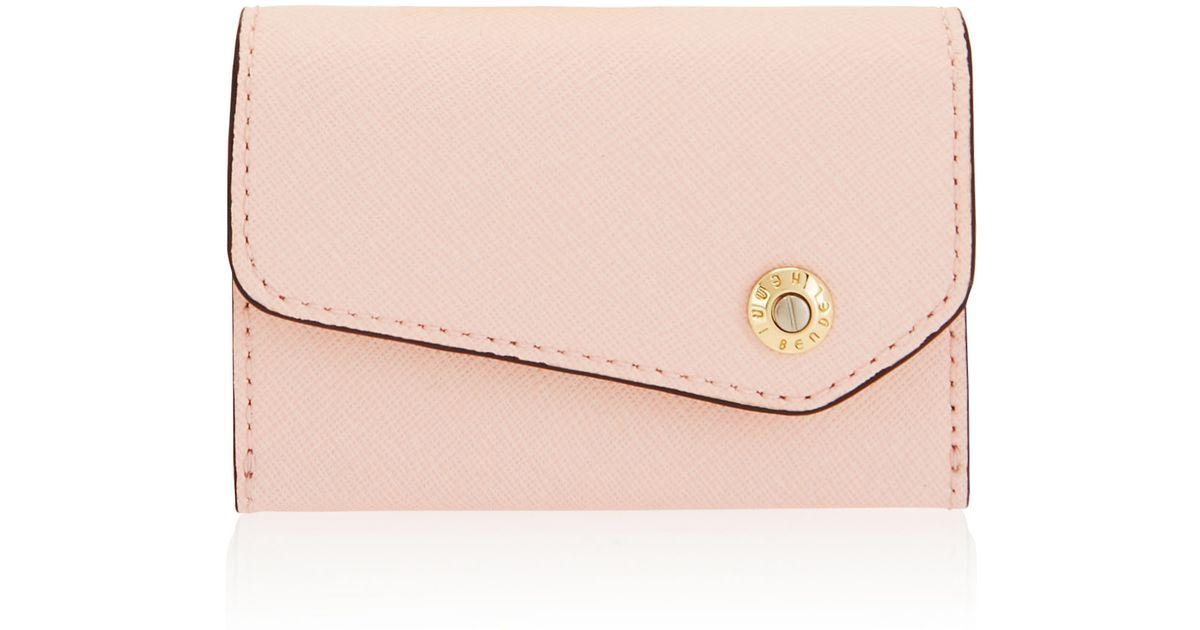Lyst - Henri Bendel Mind Your Business Card Case in Pink