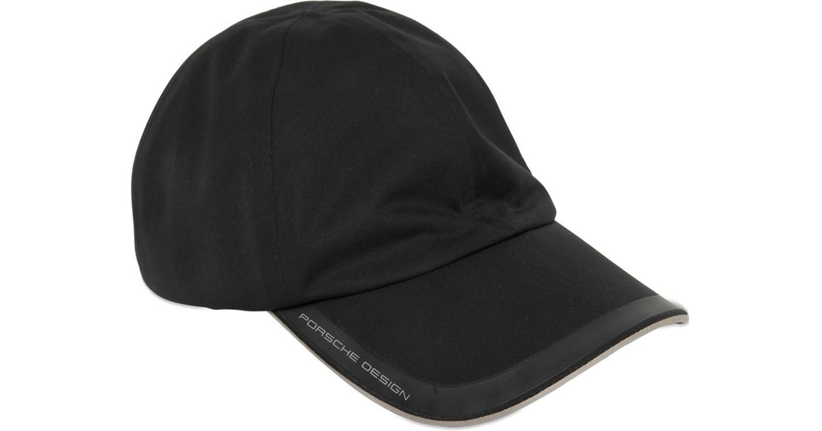 Lyst Porsche Design Waterproof Baseball Hat In Black For Men 3e4a4a1dd8e