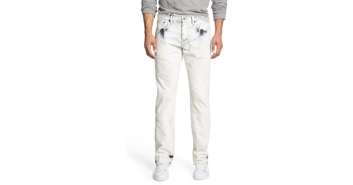 2515b3fbca1 Lyst - PRPS  demon - Scutum  Slim Straight Leg Jeans in White for Men
