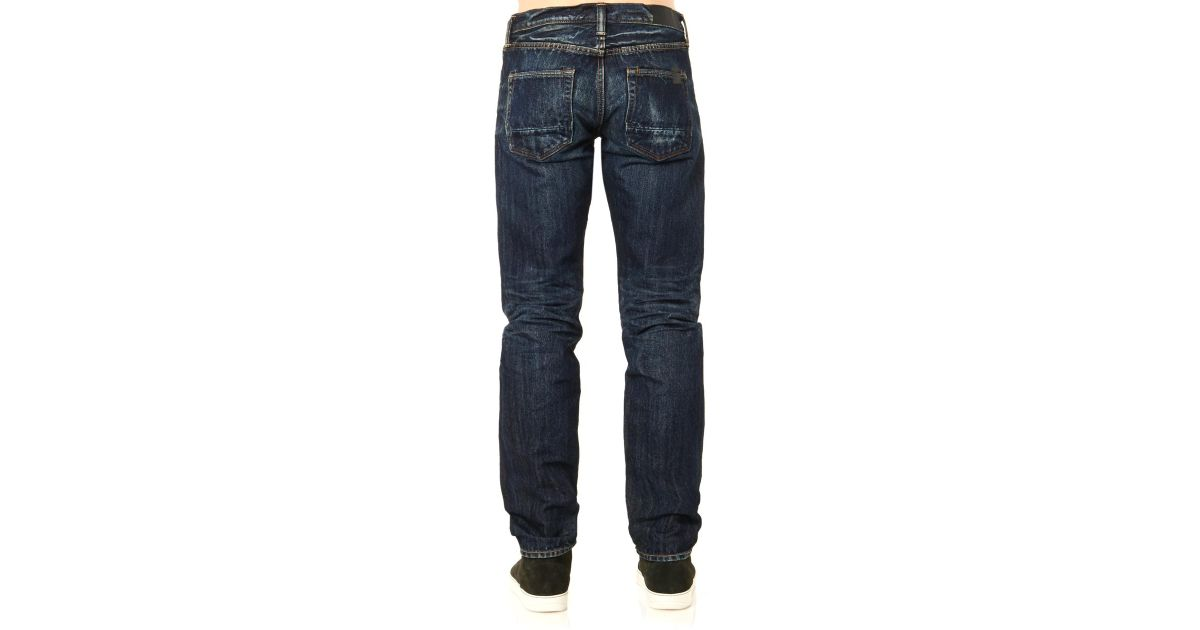 6dea1c17 Lyst - Mastercraft Union Relaxed Tapered-Leg Jeans in Blue for Men
