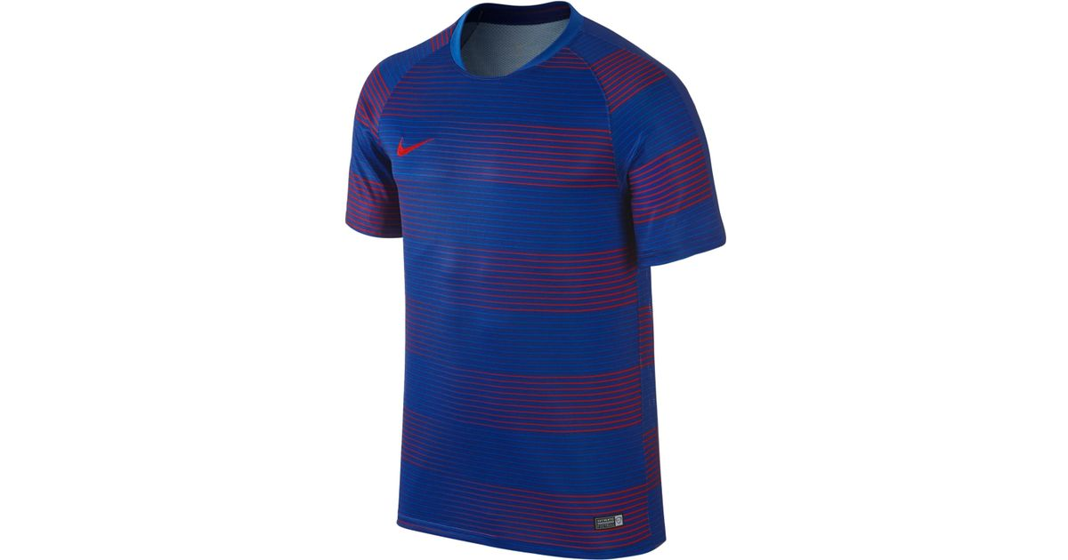 aac8559282f6 Lyst - Nike Men s Flash Dri-fit Soccer T-shirt in Blue for Men