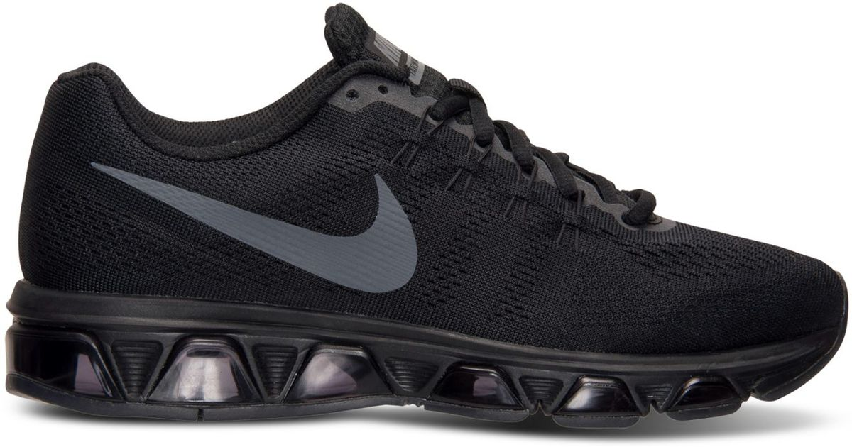 huge selection of 9d149 97d64 Lyst - Nike Women s Air Max Tailwind 8 Running Sneakers From Finish Line in  Black