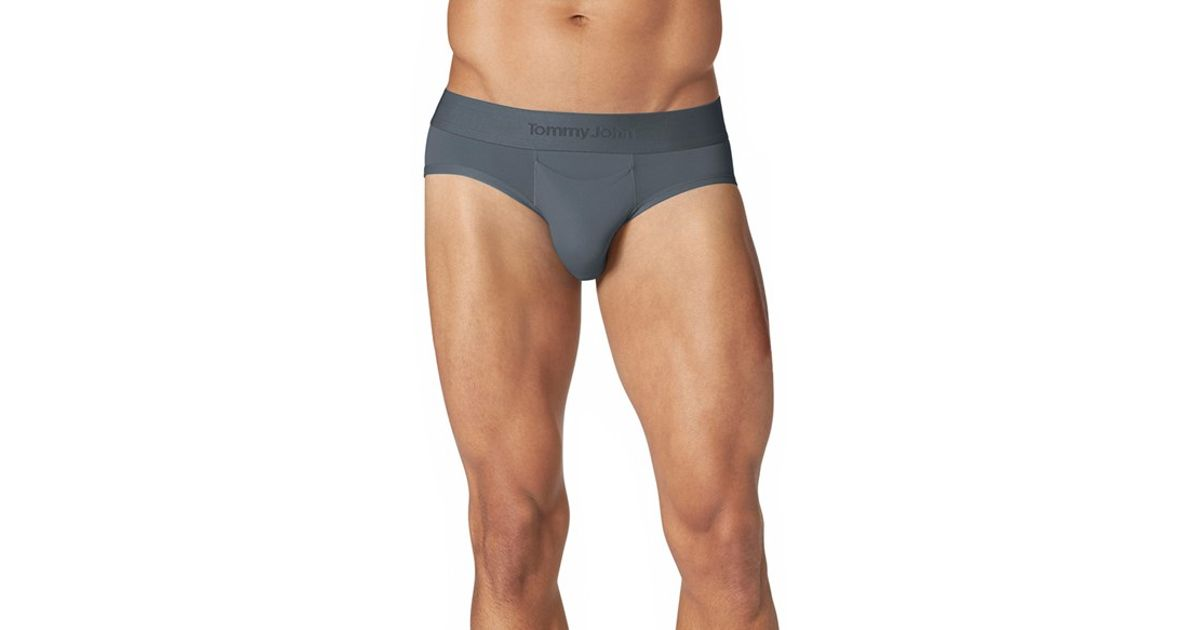 fcd248ced52e Lyst - Tommy John  air  Briefs in Gray for Men