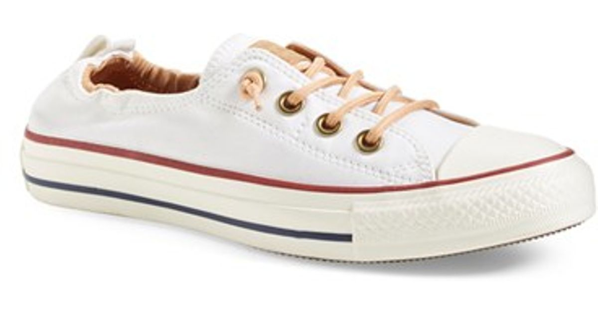 Converse All Star Peached Shoreline Low Top Sneakers In