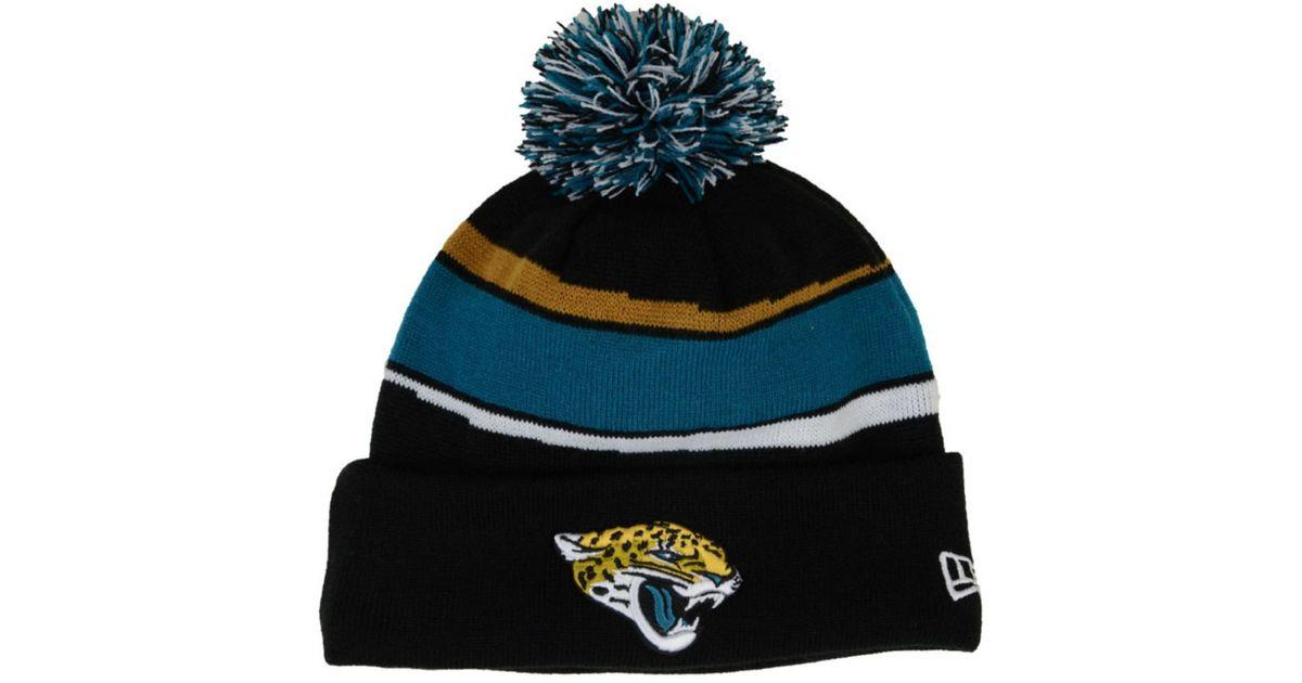 Lyst - Ktz Jacksonville Jaguars Sideline Knit Hat in Blue for Men b6356eae77e