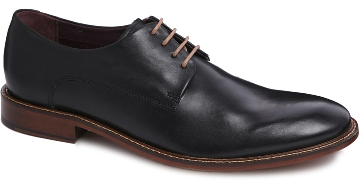 9d6a828c5595f8 Lyst - Ted Baker Irron Derby Shoes in Black for Men