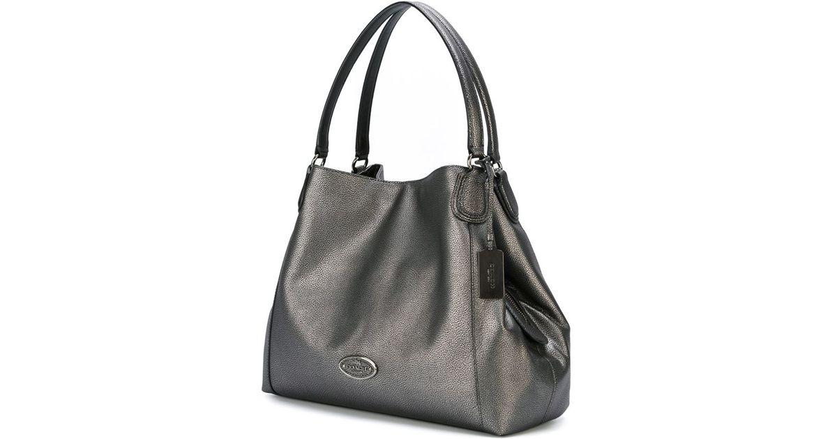 fa2e9ce1ee 123456789 9256a 88a2f  closeout coach edie shoulder bag in metallic lyst  d05d0 de75c