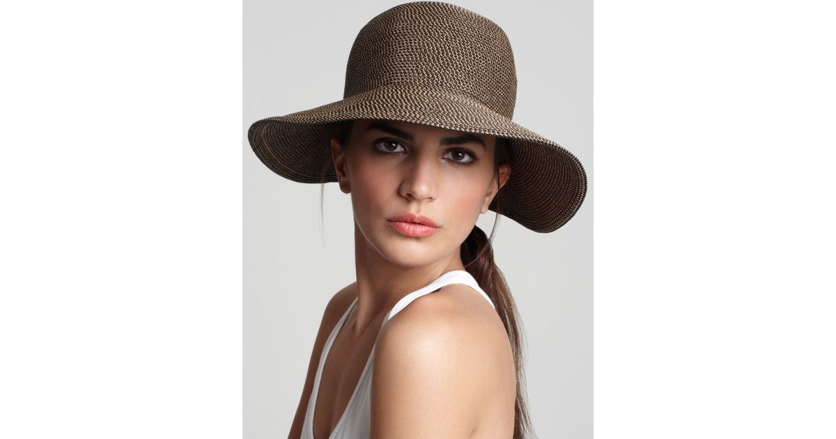 b9e0871117 Eric Javits Packable Squishee Iv Short Brim Sun Hat in Gray - Lyst