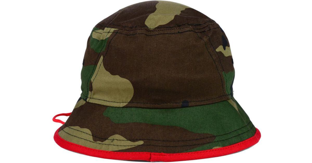 new concept 496e0 02e62 Lyst - KTZ Houston Texans Camo Pop Bucket Hat in Green for Men