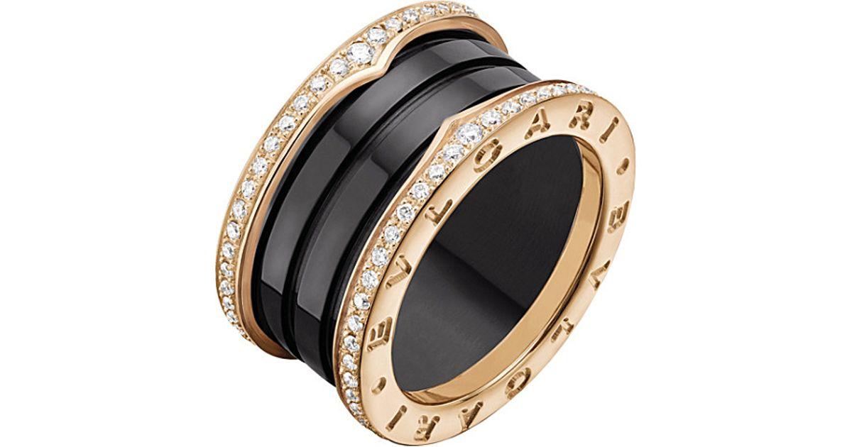 Bvlgari Ct Diamond Bzero Ring