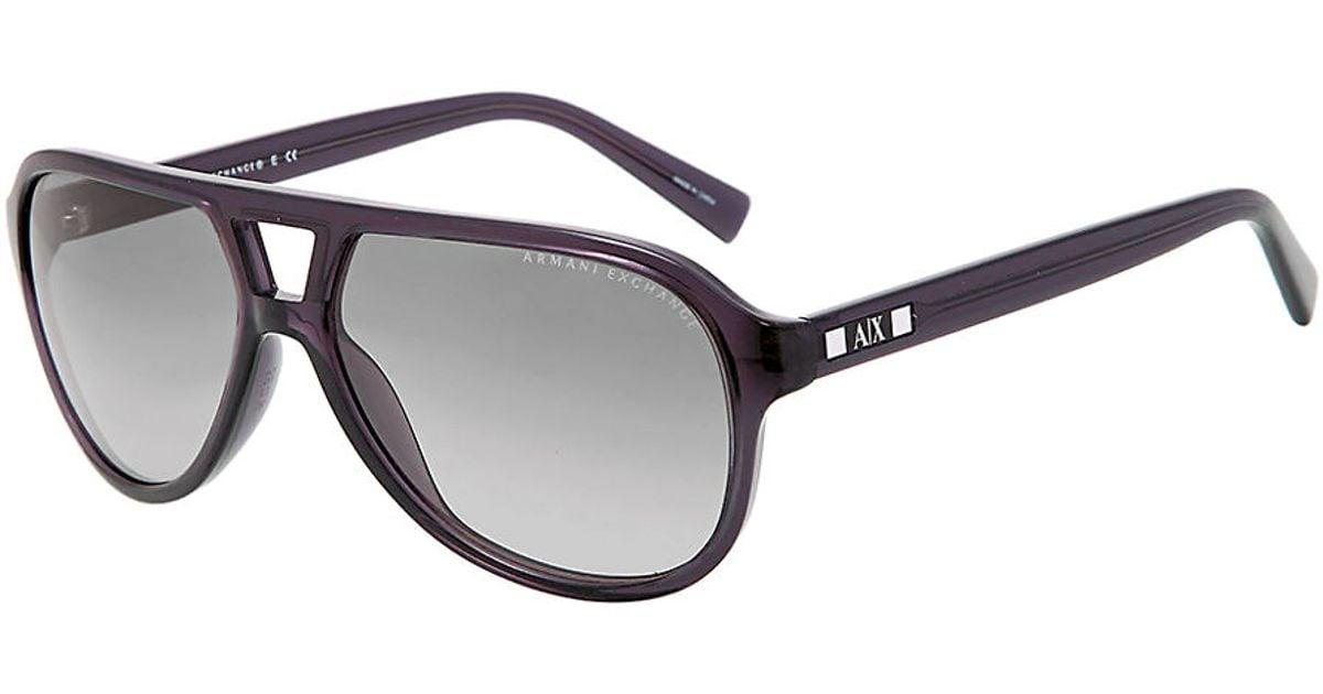 a4fd91919b4 Armani Exchange Aviator Sunglasses Mens
