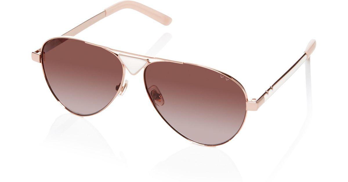 pared eyewear funk soul sunglasses in white lyst