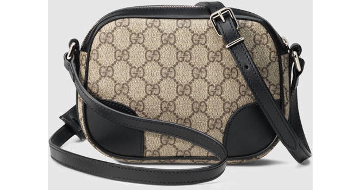 Lyst - Gucci Small Gg Supreme Shoulder Bag 4c2c736a66164