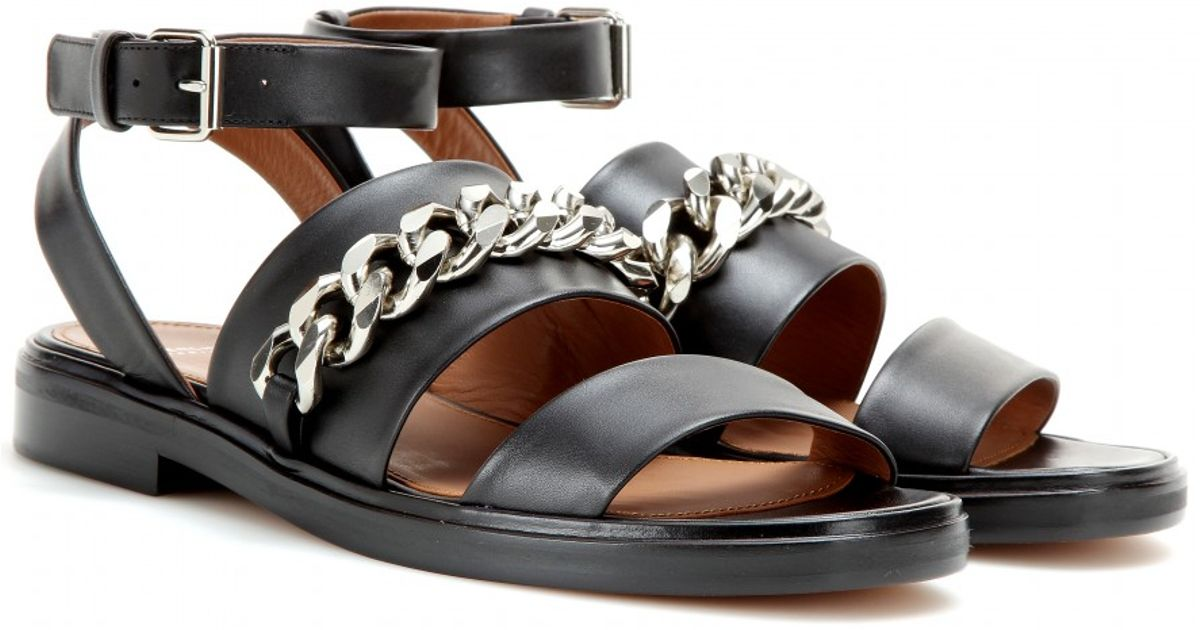 Leather sandals Givenchy rmQCL