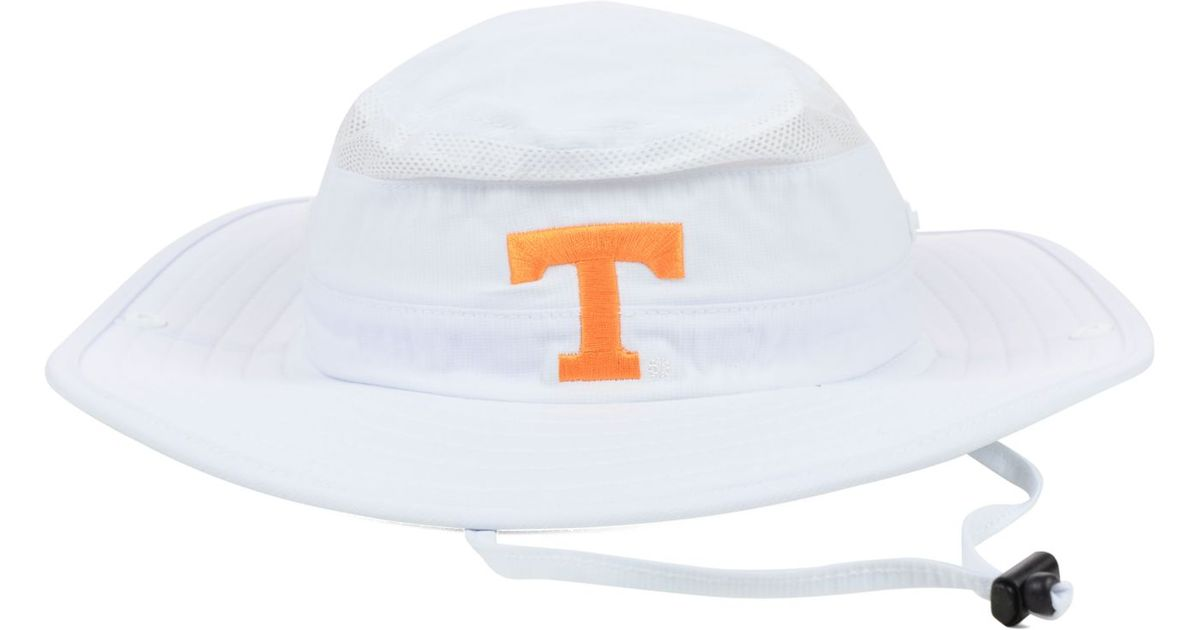 8b3498a927df17 adidas Tennessee Volunteers Campus Safari Hat in White for Men - Lyst