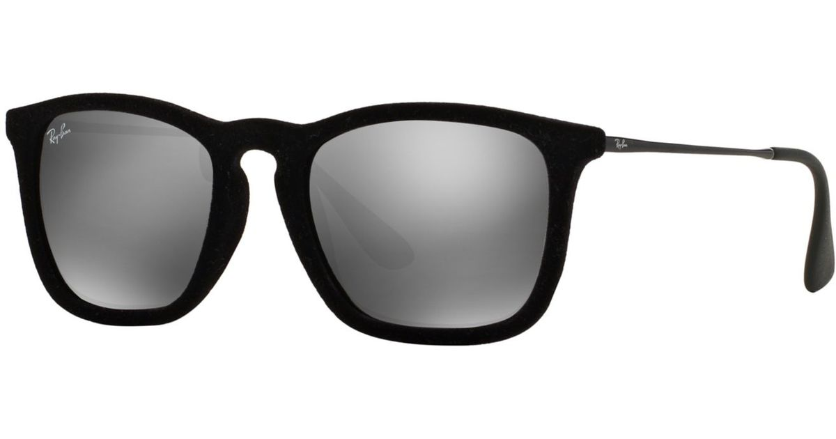 6ffb4cfcd3176 Lyst - Ray-Ban Rb4187 54 Chris in Metallic for Men