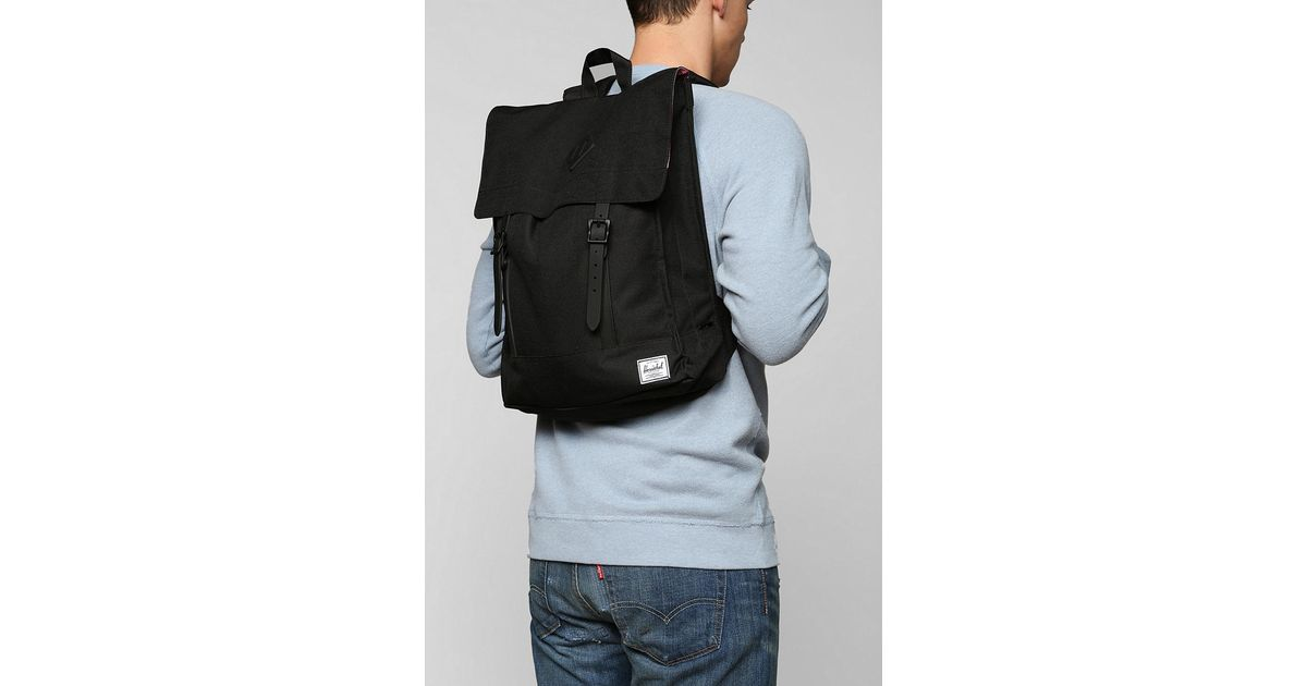 a66bb3bdde Herschel Supply Co. Herschel Supply Co Survey Weather Backpack in Black for  Men - Lyst