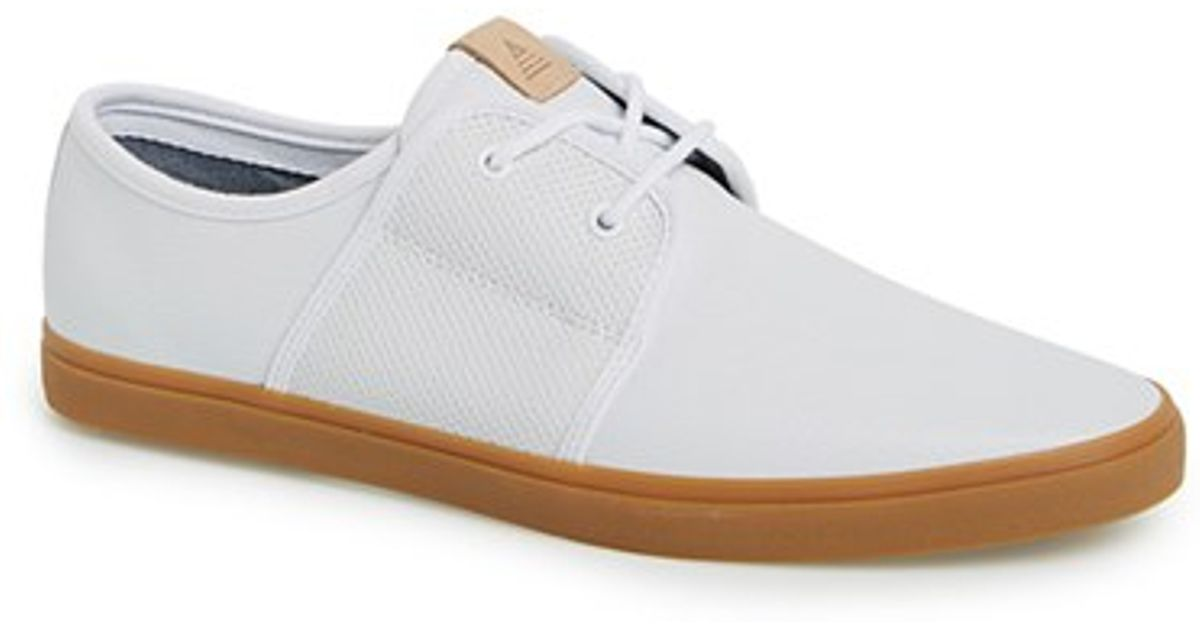 5d2113e3e28b Lyst - ALDO  sturges  Leather Sneaker in White for Men
