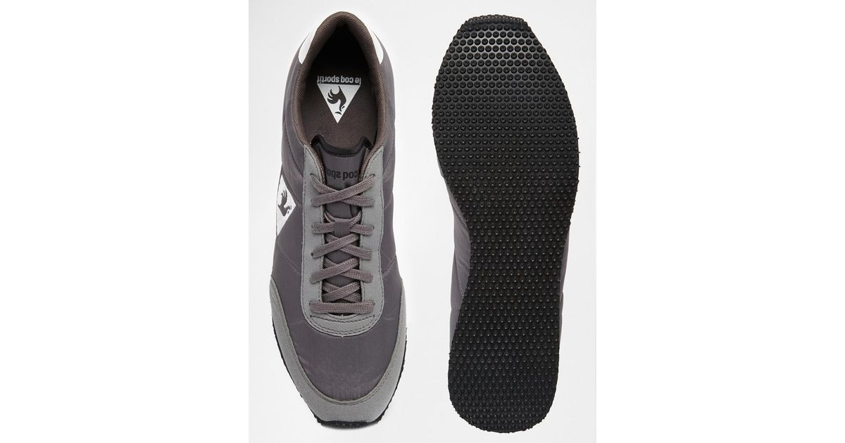 d31040477764 Lyst - Le Coq Sportif Racerone Grey Classic Trainers in Gray for Men