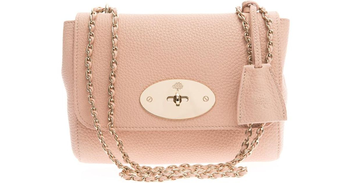 ... netherlands lyst mulberry lily leather crossbody bag in pink 1804c 15115 ebd1f566a053d