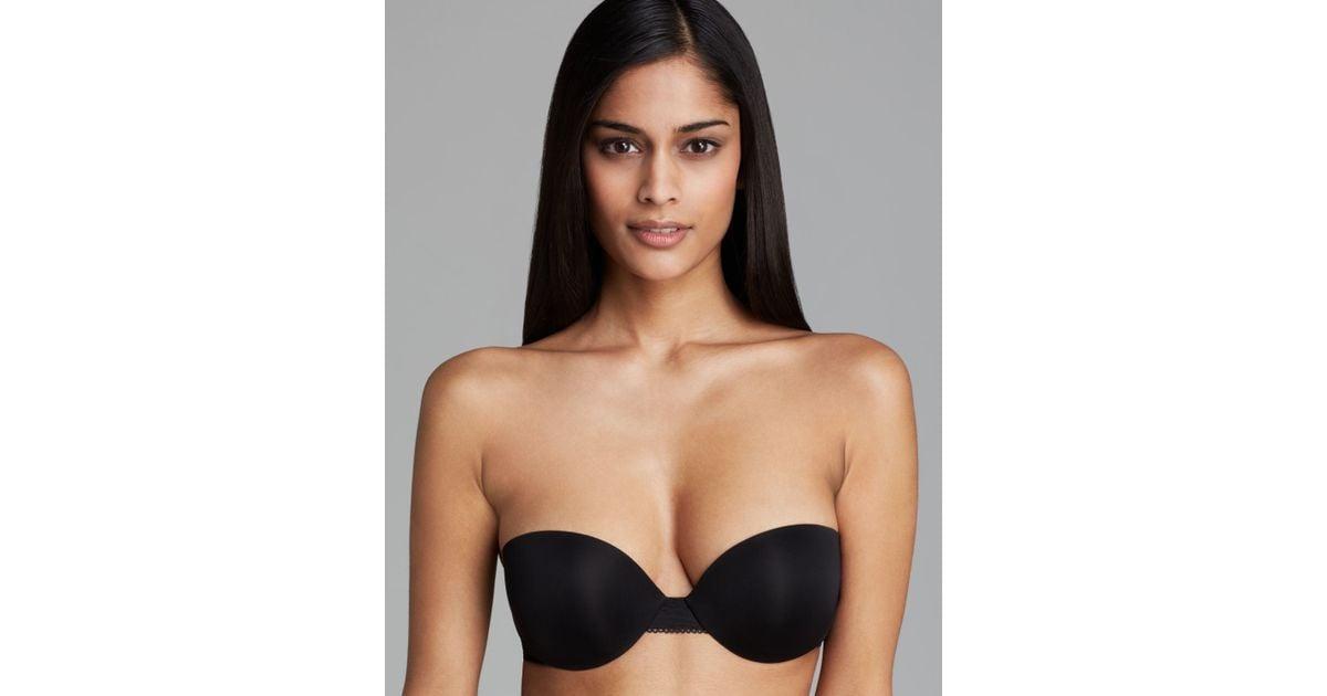 5674337889b618 Lyst - Calvin Klein Bra - Icon Modern Strapless T-shirt  f3718 in Black