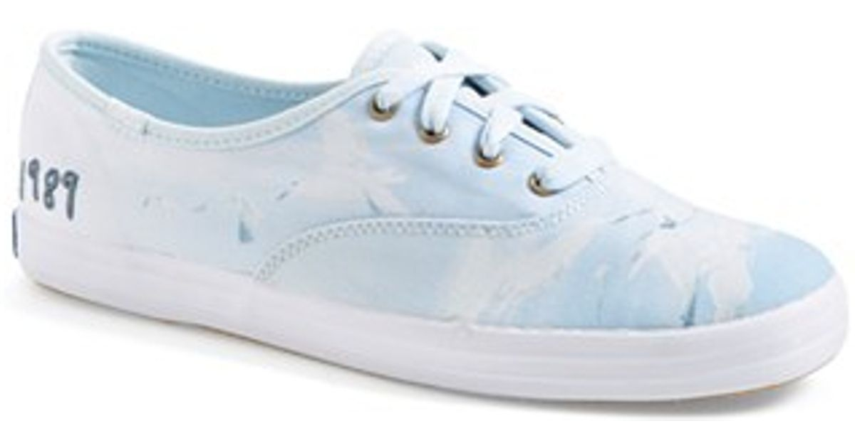 6a153fc292e Lyst - Keds Taylor Swift  champion -1989  Sneaker in Blue