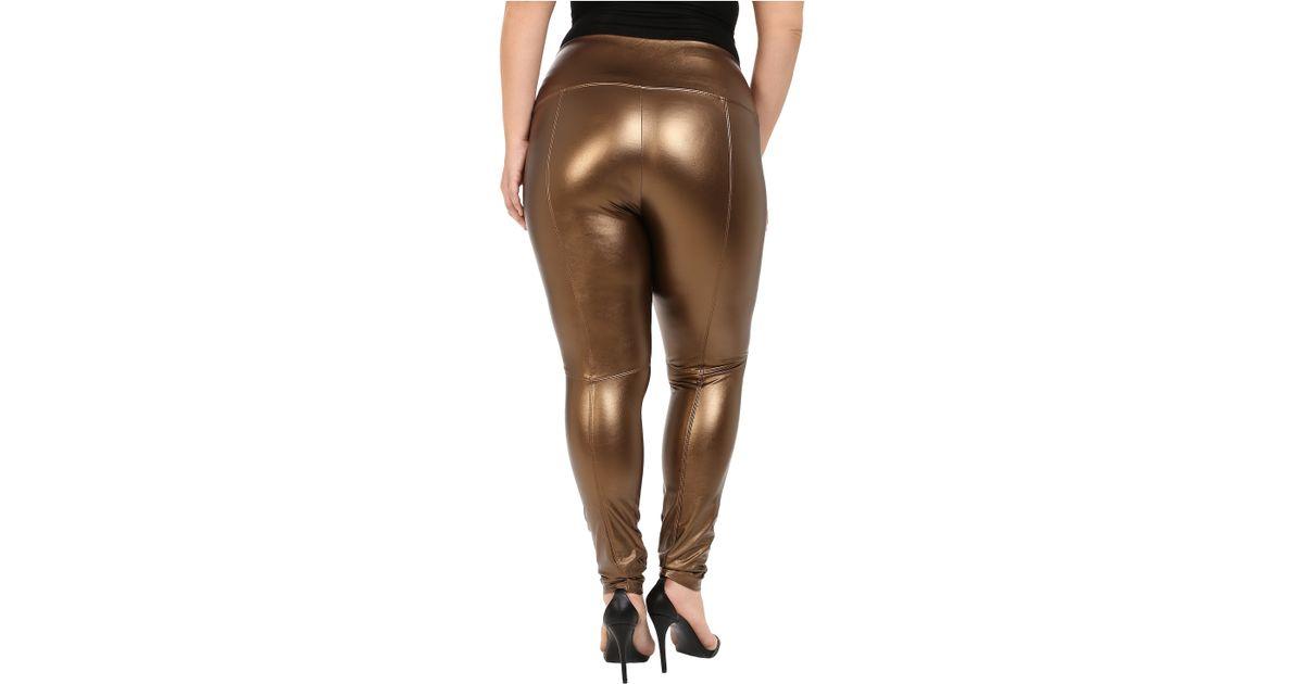 Women S Fashion Leggings Gold Copper