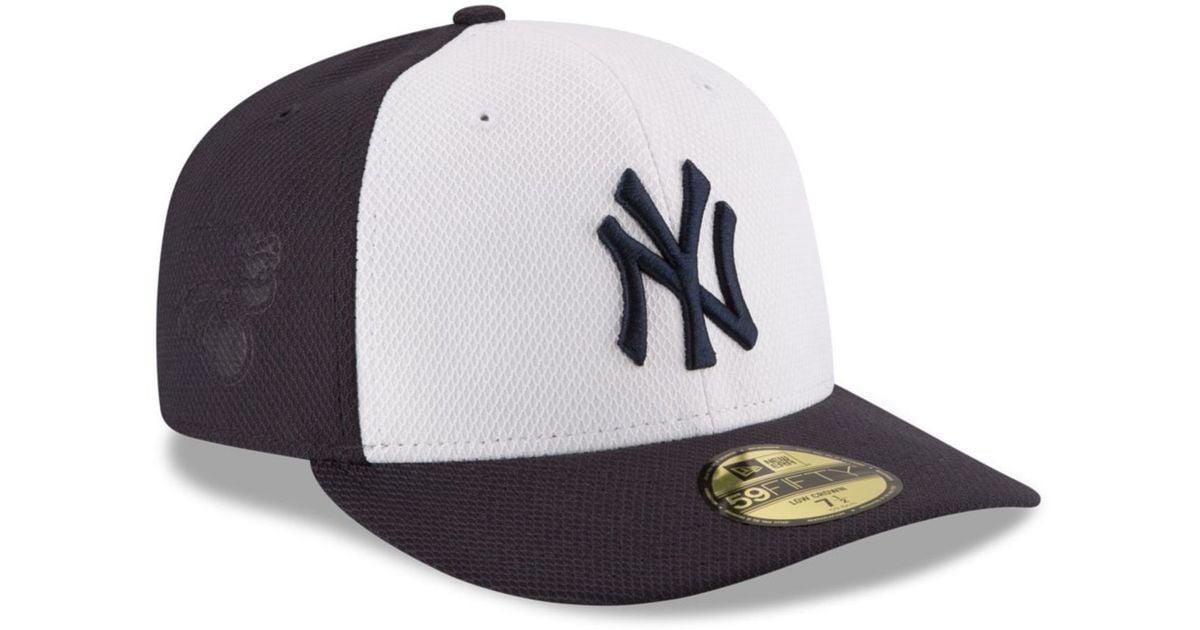3053ceda36dee Lyst - KTZ New York Yankees Low Profile Diamond Era 59fifty Cap in Orange  for Men