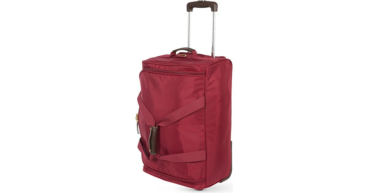 9d2f7d4b7426 Bric S Brics Xtravel 55cm Holdall Trolley Rhododendron in Red for Men - Lyst