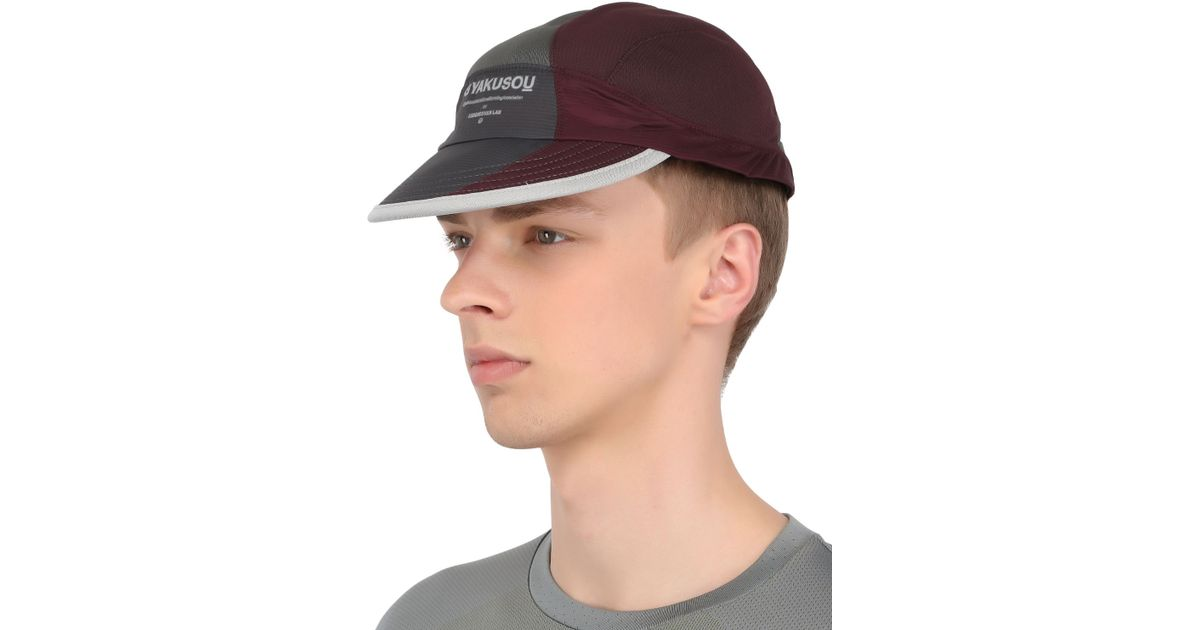 bf7ee8cda998f ... authentic lyst nike drifit mesh running hat in red for men edbab dcc3d