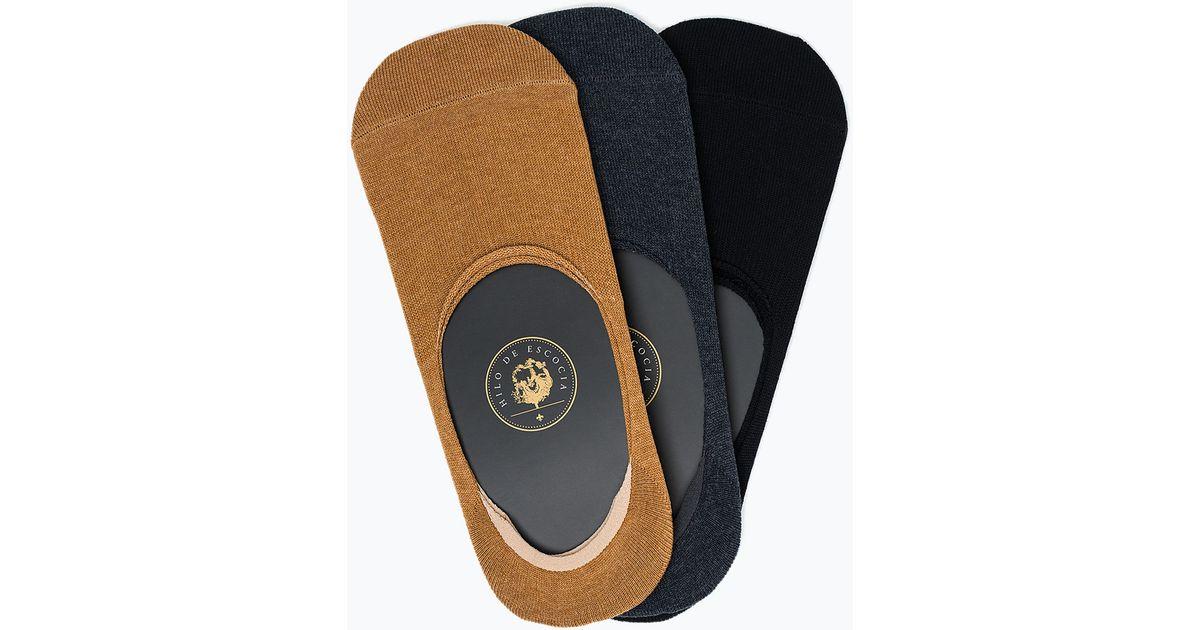 Zara Colorful Shoe Liner Socks For Men | Lyst