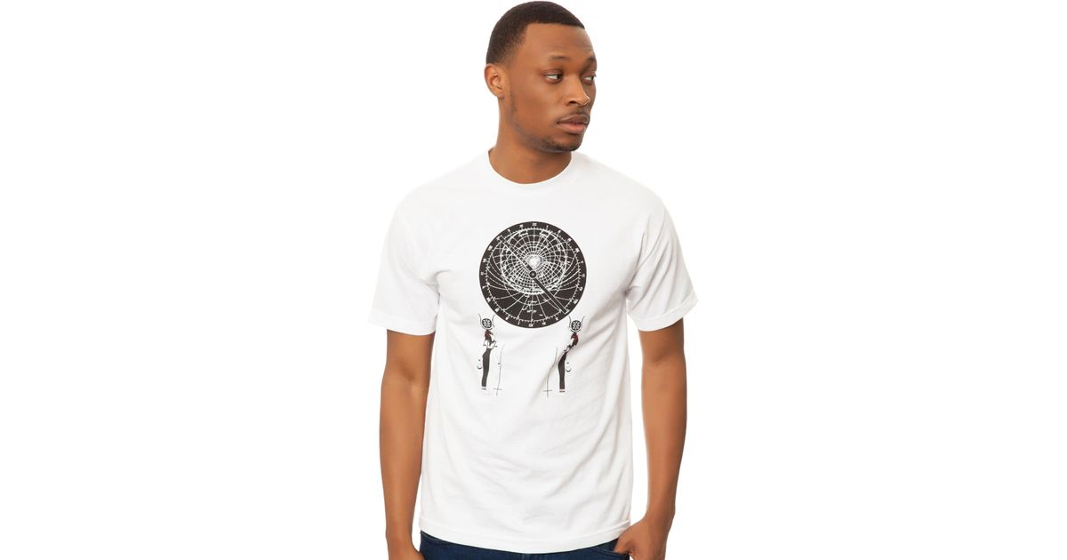 Lyst - Black Scale The Astrolabe Tee in White for Men 00f0a7878