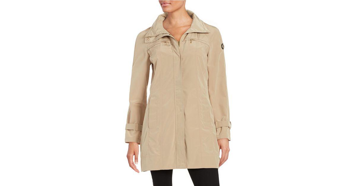 Calvin Klein Packable Rain Coat Save 19 Lyst