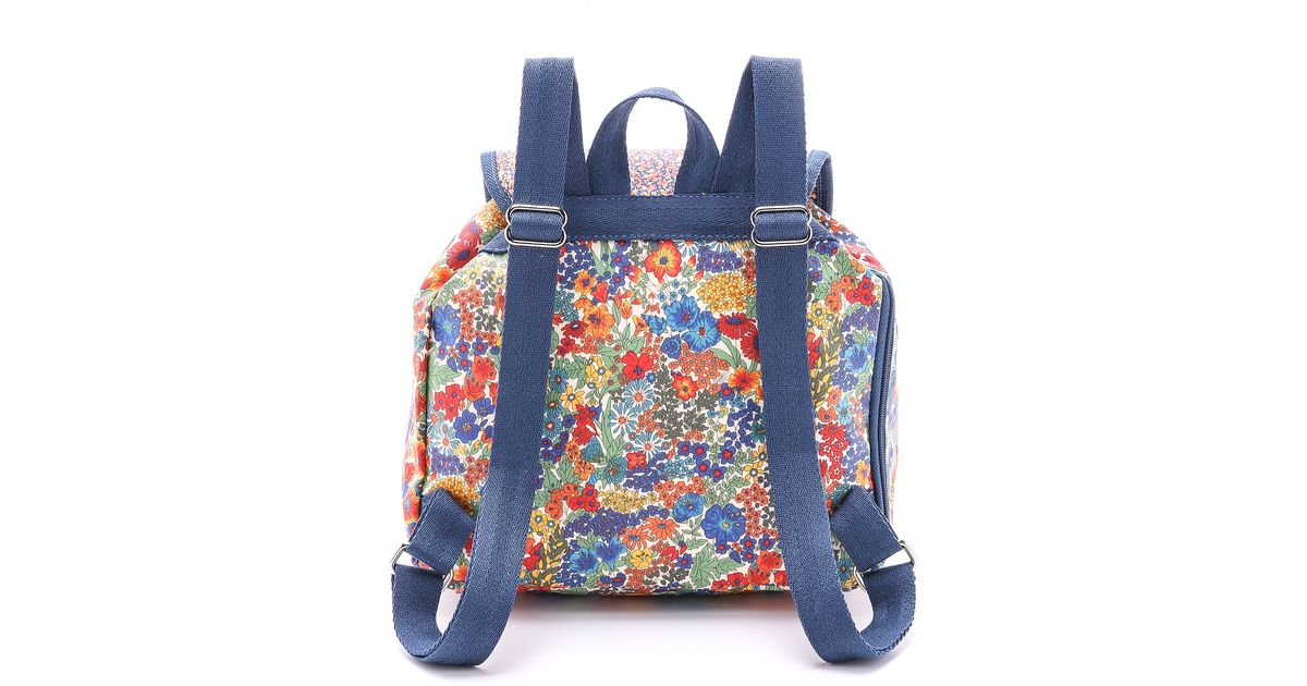 d49362fa97a Lyst - LeSportsac Liberty X Small Edie Backpack - Liberty Combo