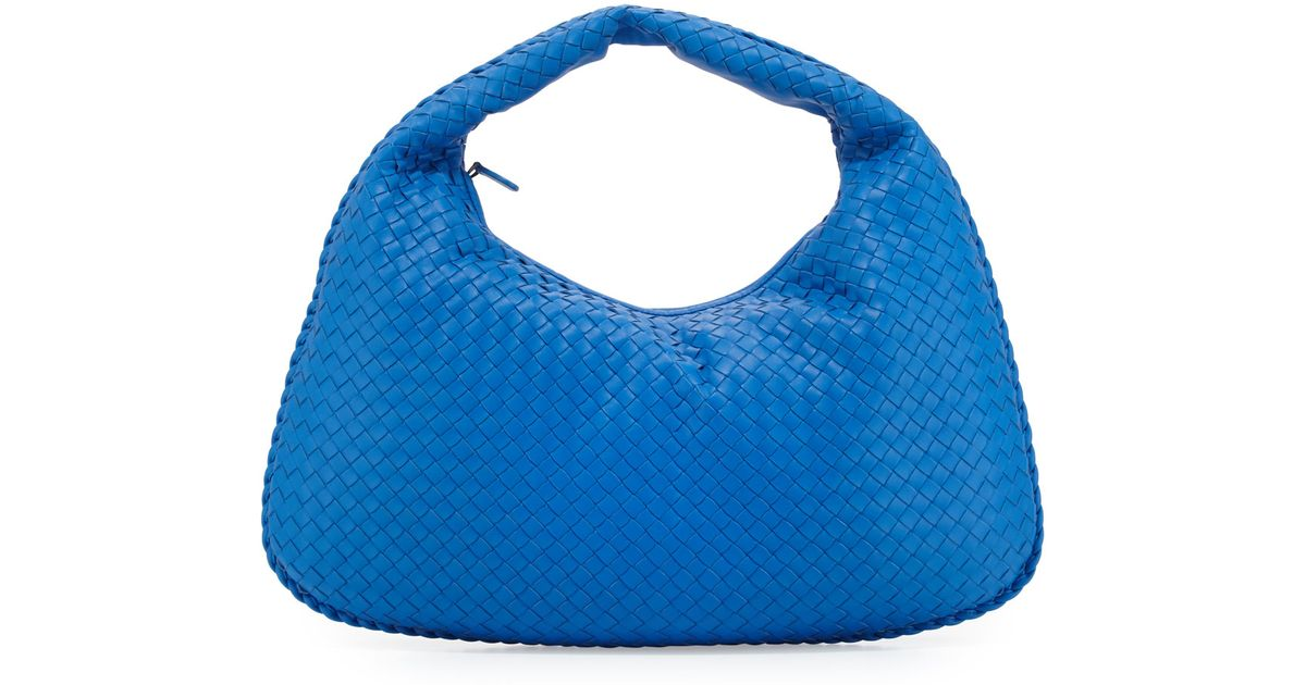 Bottega veneta Veneta Large Sac Hobo Bag in Blue | Lyst