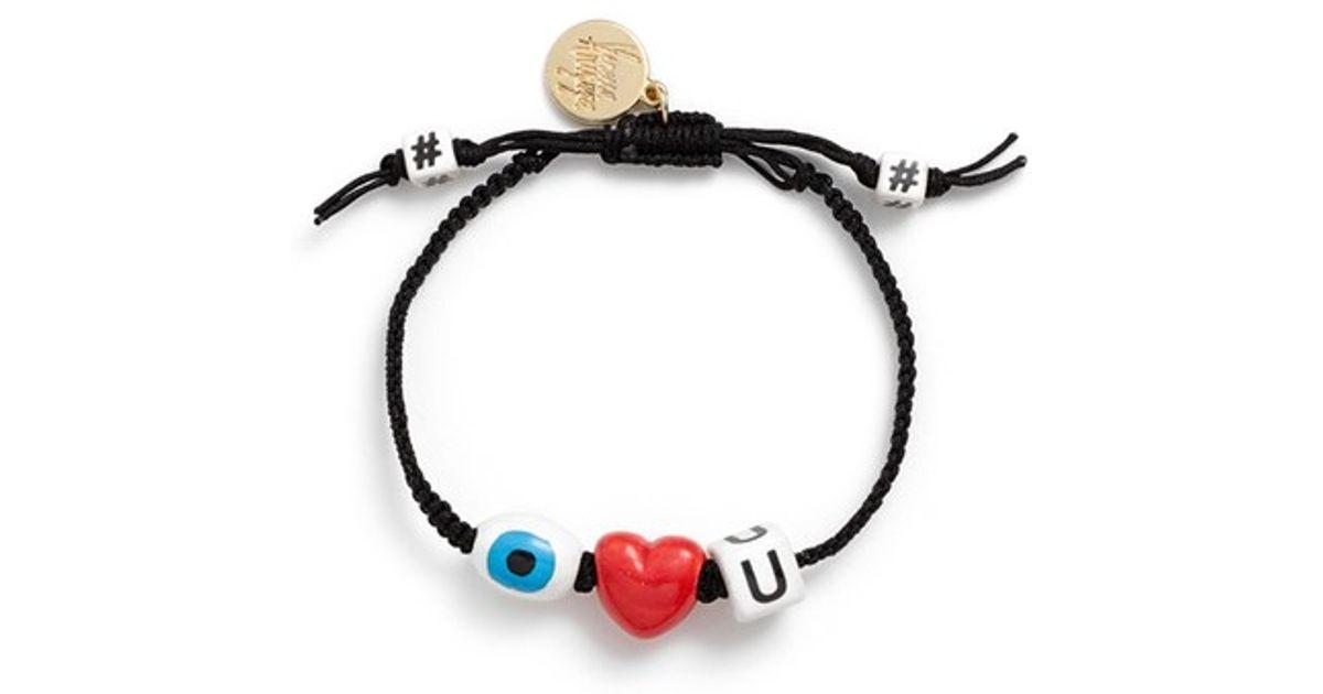 Hugs And Kisses bracelet set - Black Venessa Arizaga rrxYEm4