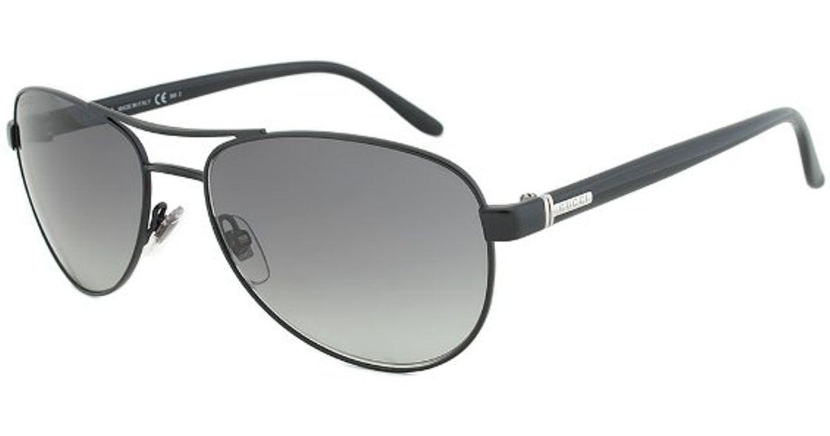 d04e1d962a Gucci Gg 2236 s Pdcvk Aviator Sunglasses